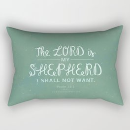Psalm 23:1 Rectangular Pillow