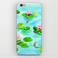 Water Lillies iPhone & iPod Skin