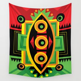Power Shield Wall Tapestry