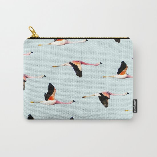 Migration #society6 #decor #buyart Carry-All Pouch