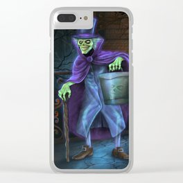 Hatbox Ghost Clear iPhone Case