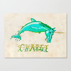 CHARGE! Canvas Print