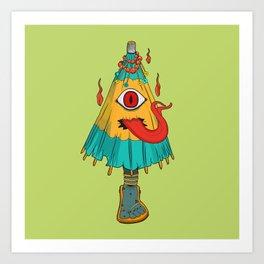 Kasa-Obake Art Print