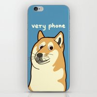 doge iPhone & iPod Skins featuring Doge by evannave