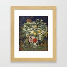 Bouquet of Flowers by Van Gogh Framed Art Print