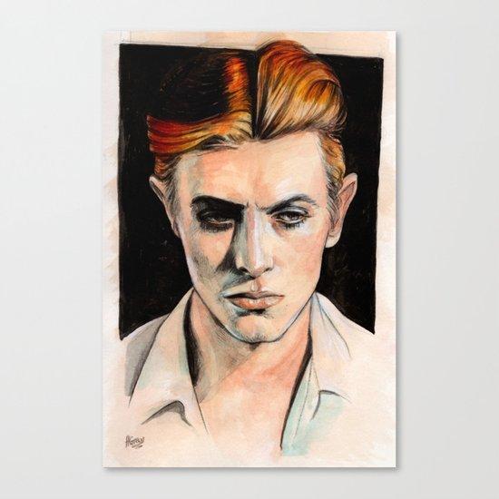 Thin White Duke Canvas Print