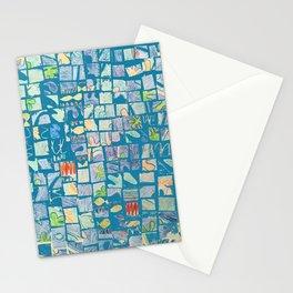 Mosaic Doodle Stationery Cards