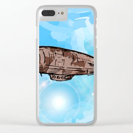 The Zeppelin Clear iPhone Case