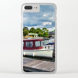 Moorings at Henley on Thames Clear iPhone Case
