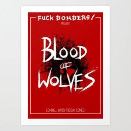 Blood of Wolves Art Print