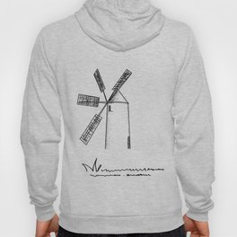 mill on white background .( https://society6.com/vickonskey/collection ) Hoody