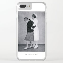 RESISTANCE IS FUTILE Clear iPhone Case