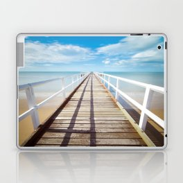 Beach Dock Laptop & iPad Skin
