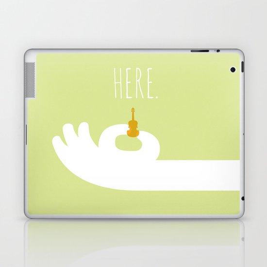 World's Smallest Violin Laptop & iPad Skin