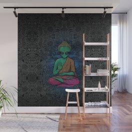 Alien Buddha Wall Mural