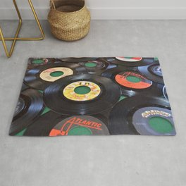 45 Records Rug