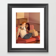 Negotiation Framed Art Print