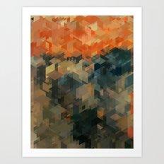 Panelscape Iconic - The Scream Art Print