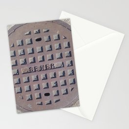 The Sewer  Stationery Cards