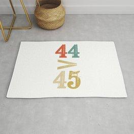 44 > 45 Anti Trump Impeach Rug