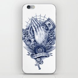 Praying Hands iPhone Skin