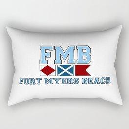 Ft Myers - Florida. Rectangular Pillow
