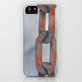 Rusty Chain iPhone Case