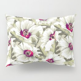 New Zealand Hibiscus Floral Print (Day) Pillow Sham