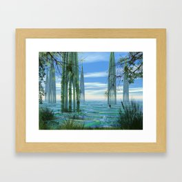 Cathedrals Framed Art Print