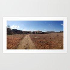 Hollenbeck Canyon Trail Art Print