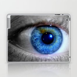 Blue eyes Laptop & iPad Skin