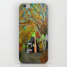 Cabin for two iPhone Skin