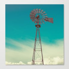 WINDMILL SKY  Canvas Print