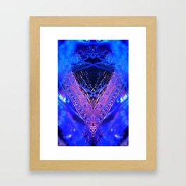 rorscach palais royal brussels belgium ice magic symmetry rorschach caleidoscope 11 Framed Art Print