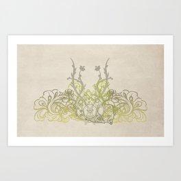 Grease Petal Art Print