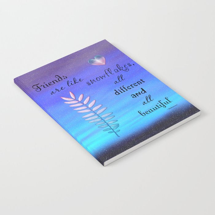 Beautiful Friends Notebook
