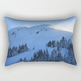 Ghosts In The Snow Rectangular Pillow