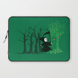The hills WERE alive Laptop Sleeve