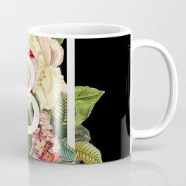 Floral Monogram - B Coffee Mug