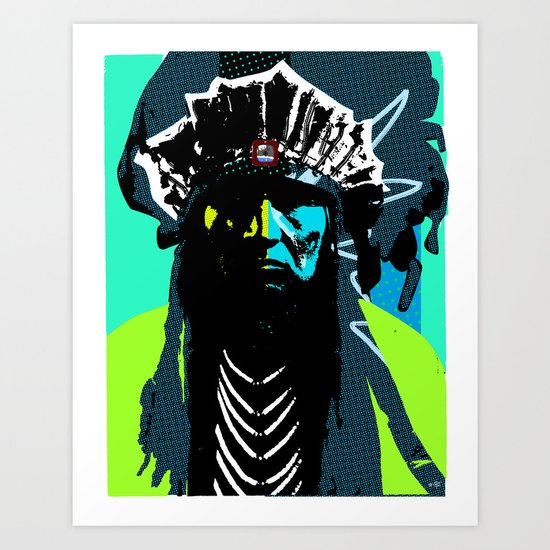 Indian Pop 50 Art Print