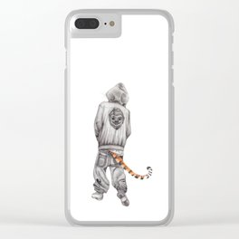 Fierce Attitude Clear iPhone Case