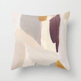 Plumb Crazy Throw Pillow