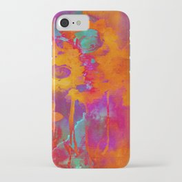 bright abstract bouquet iPhone Case