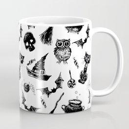 Halloween pattern design Kaffeebecher