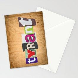 "TYRANT ""Ransom"" Stationery Cards"