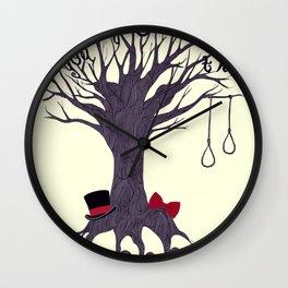 The Hanging Tree Wall Clock