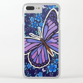 Butterfly Fantasy Clear iPhone Case