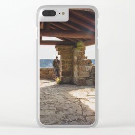 Badlands Overlook, Theodore Roosevelt NP, ND 33 Clear iPhone Case