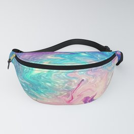 COLORFUL LIQUID MARBLE Fanny Pack