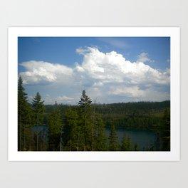 Tranquil Lake Art Print